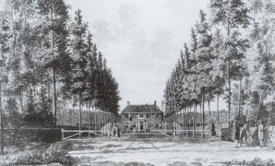 Het monumentale Hoogeduijn in 1750
