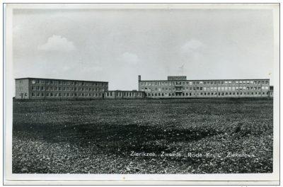 Het nieuwe ziekenhuis vlak na de oplevering