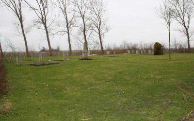 Het oude kerkhof