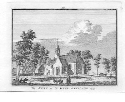 Het oude kerkje rond 1750