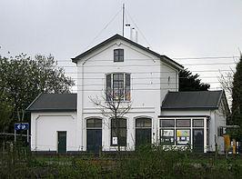 Het oude stationsgebouwtje van Arnemuiden