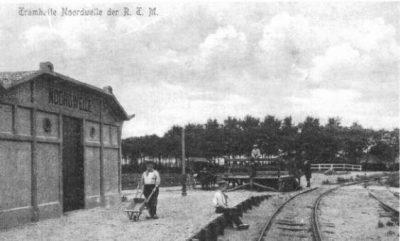 Het oude tramstation van Noordwelle – het tramkot