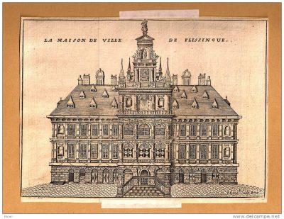 Het stadhuis van Vlissingen