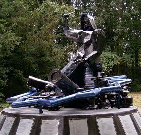 Het standbeeld van Margaretha