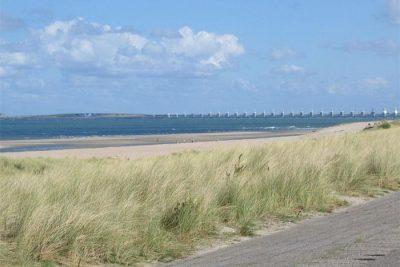 Het strand bij Kamperland