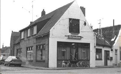 Het voormalige Café Petit 50 jaar geleden