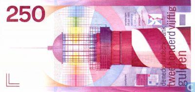 Het vroegere bankbiljet de Vuurteren