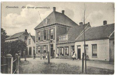 Het vroegere gemeentehuis van Haamstede