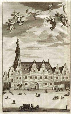 Het vroegere stadhuis