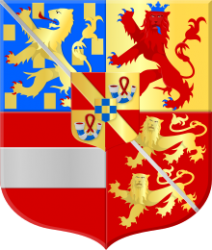 Het wapen van Justinus van Nassau