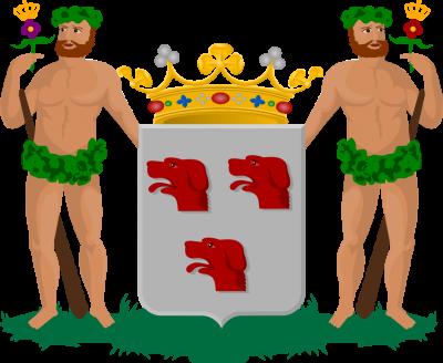 Het wapen van de familie Van Serooskerken