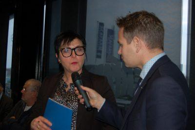 Ida Sinke - voorzitter Verenigde Schelde en Voordeltavissers - Niet onderling rollebollen