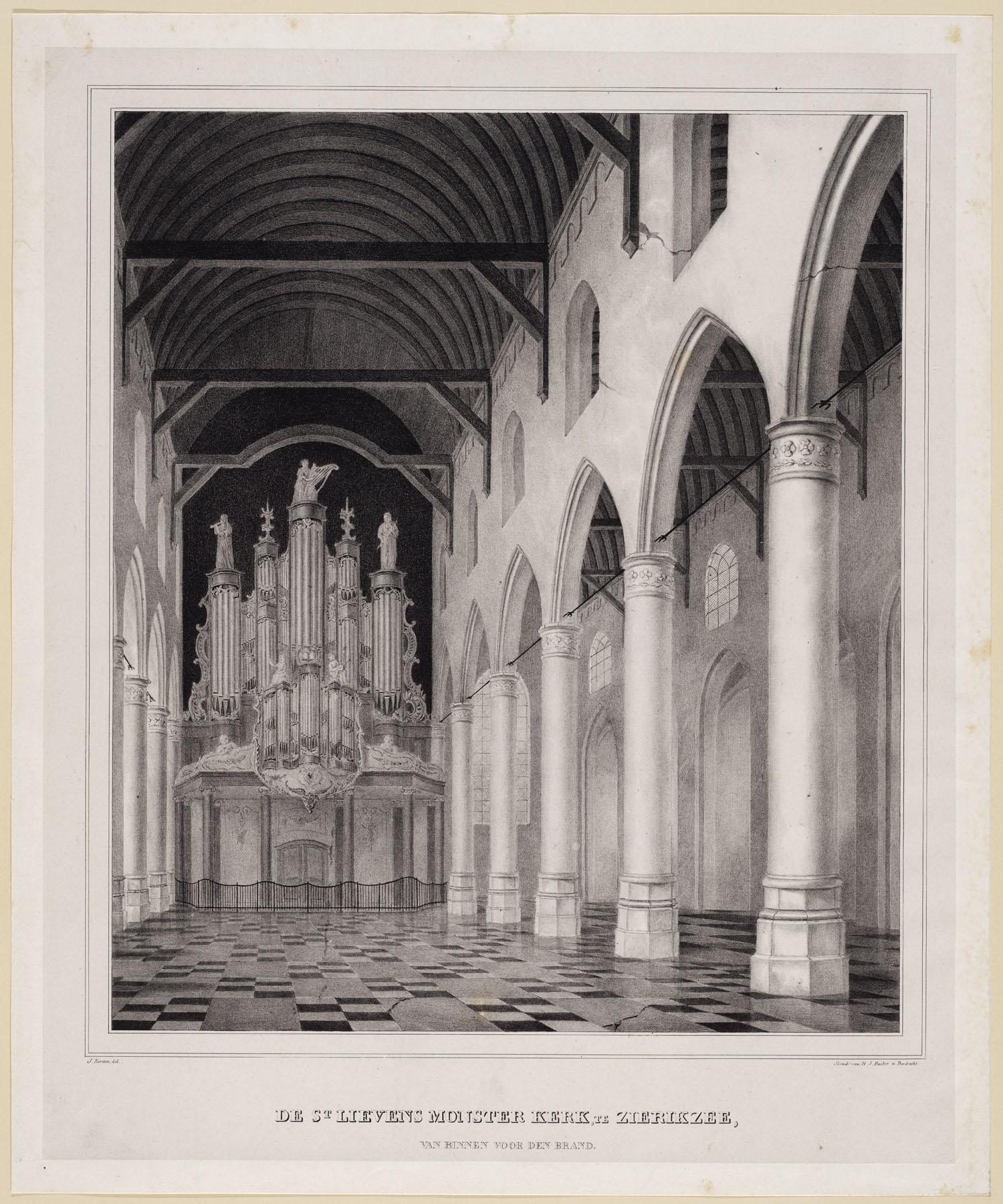 Interieur st Lievensmonsterkerk - Zalig-Zeeland.com