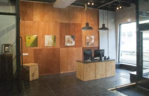 Interieur van atelier BuB-Art