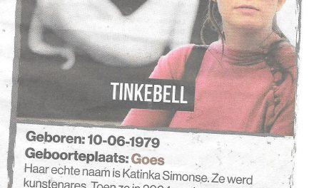 10 juni – Tinkebell – Kunstenaar of kunstenmaker?