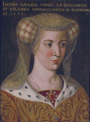 Jacoba van Beieren, omstreeks 1600
