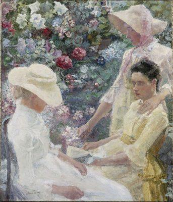 JanToorop - trio fleuri 1886