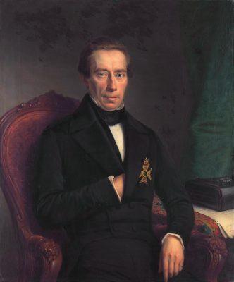 Johan Rudolpg Thorbecke - schilderij van Johan Herman Neuman