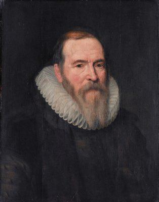Johan van Oldenbarnevelt - Portret van Michiel Jansz van Mierevelt
