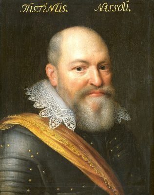 Justinus van Nassau door Jan van Ravesteyn