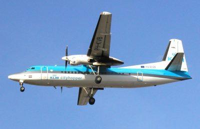 KLM Fokker F50