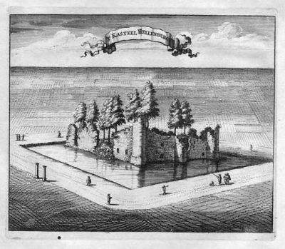 Kasteel Hellenburg - 1696