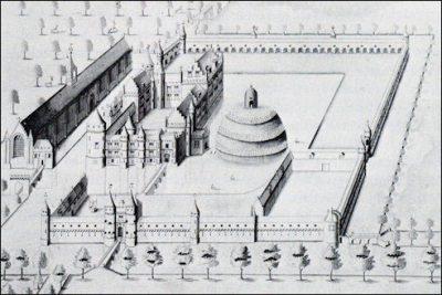 Kasteel Zandenburg in 1559