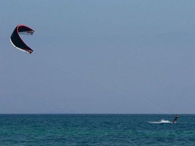 Kitesurfing - Foto Manuel González Olaechea