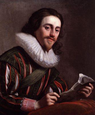 Koning Karel I - Schilderij Gerrit van Honth