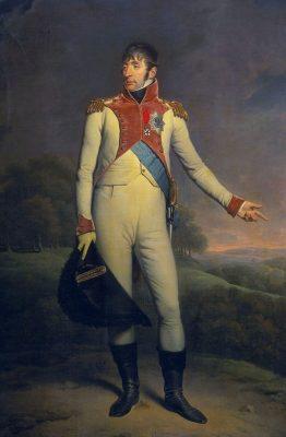 Koning Lodewijk Bonaparte - schilderij Charles Howard Hodges