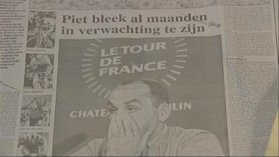 Krantenpagina uit die periode