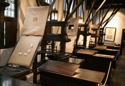 De boekdrukkerij van Plantijn - Plantijnmuseum Antwerpen