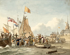 18 april – Fransen verlaten Zeeland