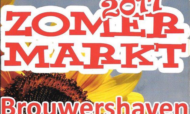 3 juli tot 4 september – Zomermarkten Brouwershaven