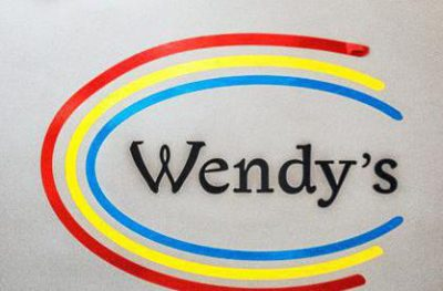 Logo Wendy's in Goes