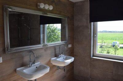 Luxe twee persoons badkamer