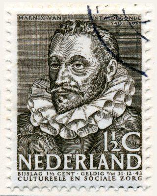 Marnix op een postzegel uit 1938
