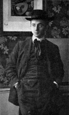 Max Blokzijl in 1907