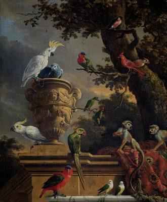 Melchior de Hondecoeter - De menegarie