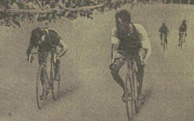 Middelkamp wint in Grenoble eerste etappewinnaar in de Tour 1936