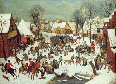 Moord op de onnozele kinderen - Pieter Bruegel