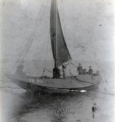 Mosselvissers aan het einde van de 19de eeuw
