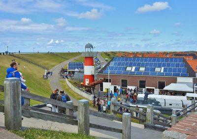 Museum Polderhuis gezien vanaf de dijk - Foto Joke Bot