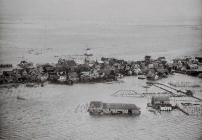 Nieuwerkerk, volledig onder water