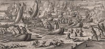 Overgave van de Spaanse troepen