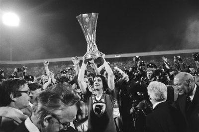 PSV wint in 1978 de UEFA Cup foto Koen Suyj, Anefa
