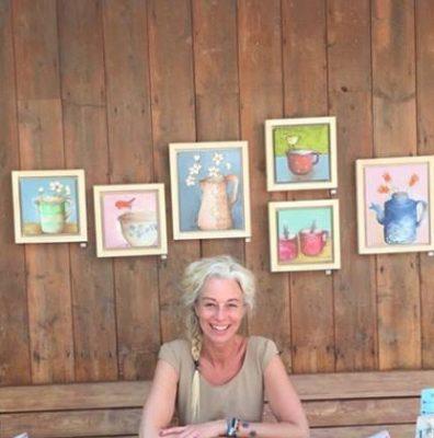 Pietra Piet in haar atelier