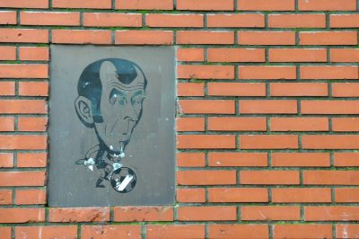 Plakette van Moulijn in de Bloklandstraat - Foto FaceMePLS - commons.wikimedia