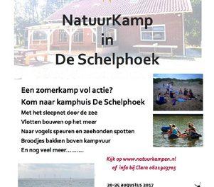 20 – 25 augustus – Natuurkamp in de Schelphoek