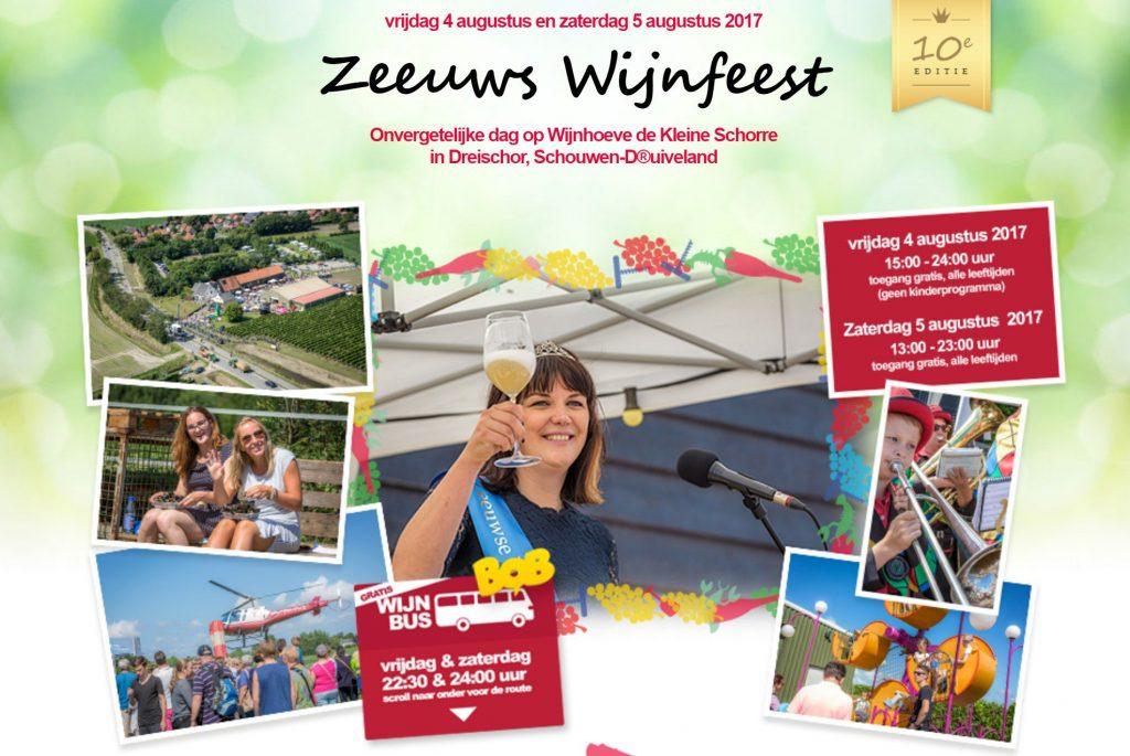Poster Wijnfeest 2017